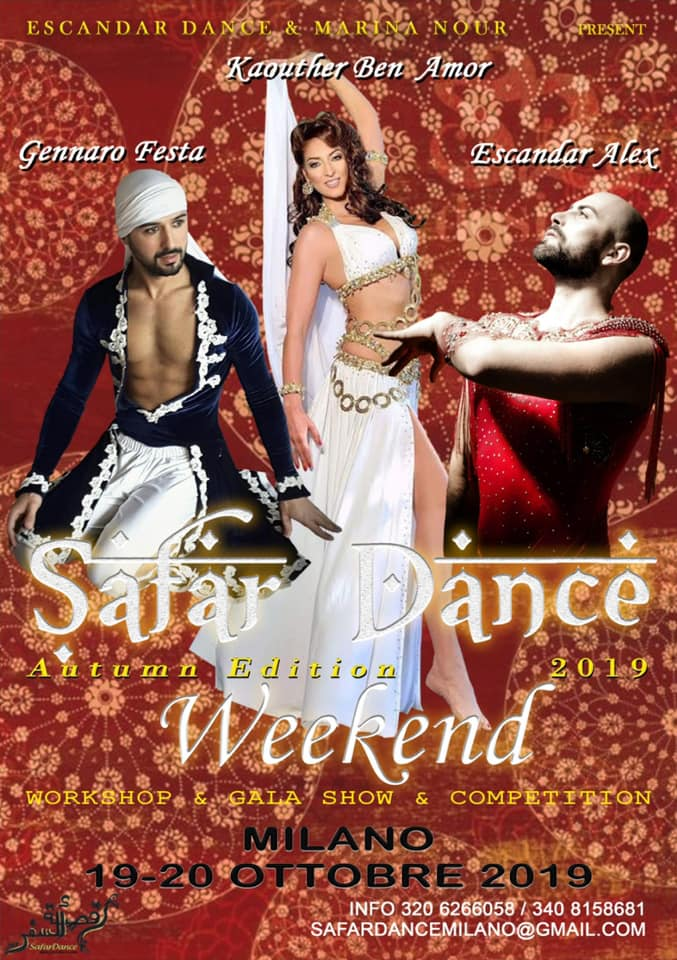 Safar Dance Week – Autumn Edition 2019